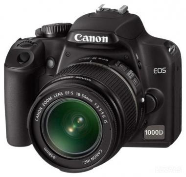 инструкции для цифрового фотоаппарата Canon EOS 1000D