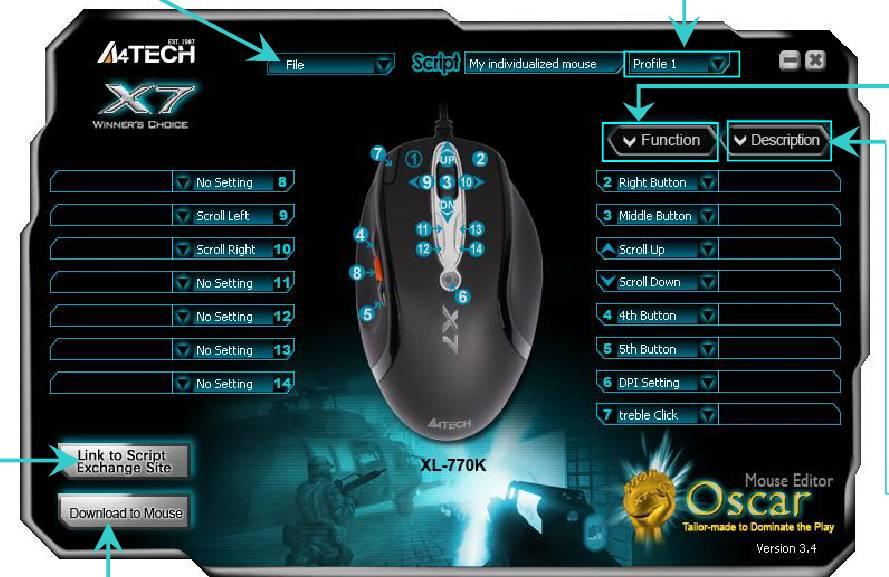 Скачать драйвер для мышки х7 xl 750bk